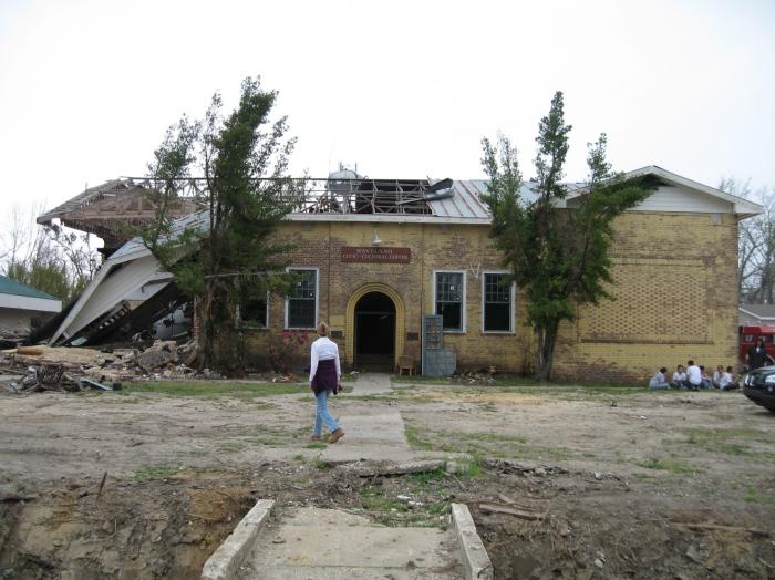 Waveland School, photo Mar 2006