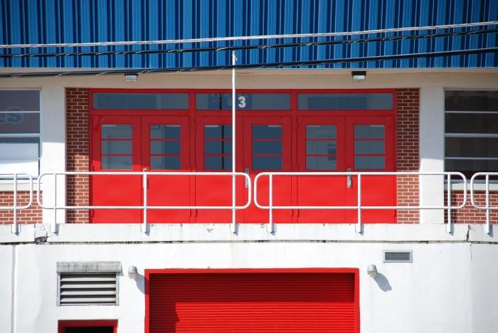 Gotta love the red doors