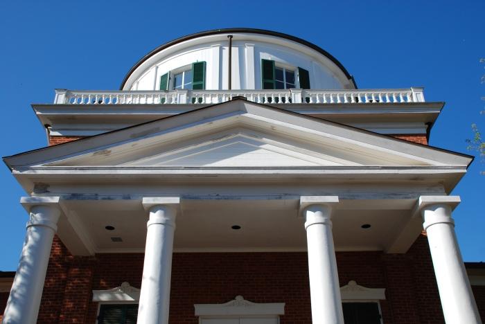 Official Ole Miss Building Checklist: Portico? check. Columns? check.