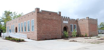 Waveland School (1920), finishing Katrina repairs