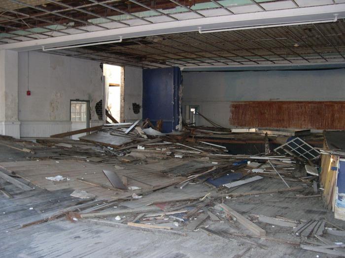 Waveland School auditorium, photo September 2005