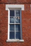 Speed Street School window