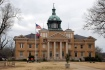Union County Courthouse (1909, H.E. Ostling, archt.). Usually it's almost impossible to get a decent picture of this building because you're facing the south, so the gloominess worked in my favor and actually brought out some of the details.