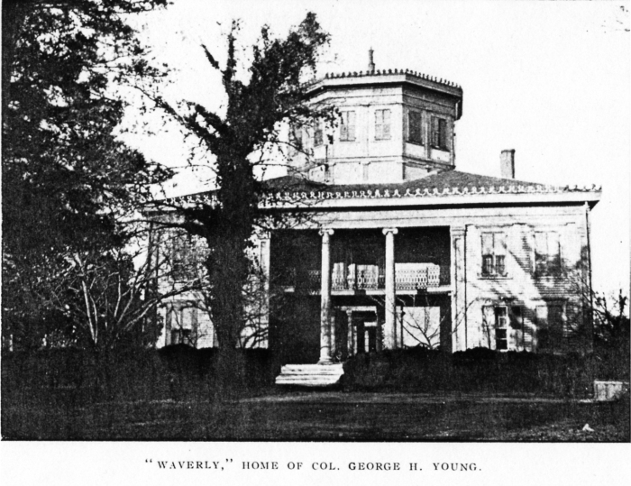 Waverley, as seen in Libscomb's 1909 History of Columbus