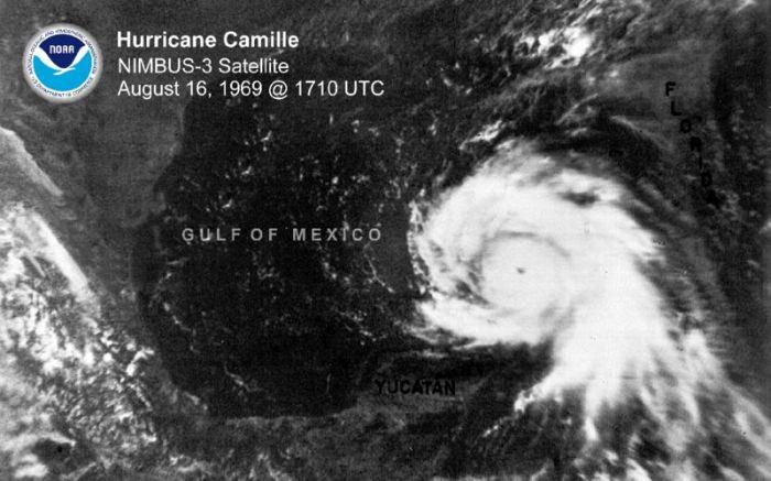 Hurricane Camille, August 31, 1969