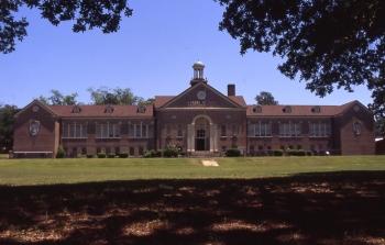 Stewart M. Jones School, Laurel--in happier times
