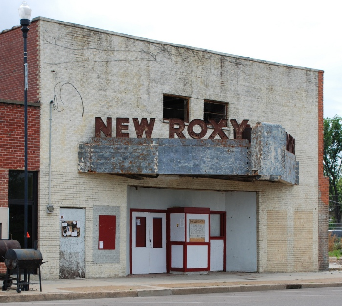 New Roxy Theater--this was the African American theater. I don't know when it was built--sometime in the late 1930s?