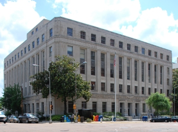 Eastland Federal Courthouse (1933, Hull & Malvaney, archts.)