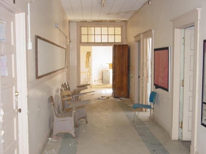 East Ward School, 2nd floor