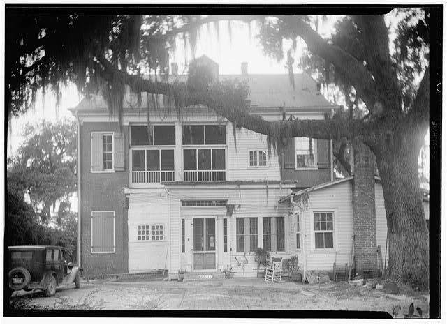 Historic American Buildings Survey James Butters, Photographer April 23, 1936 REAR (NORTH ELEVATION)