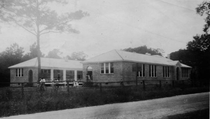 Randolph School (1928), Pass Christian, photo courtesy Fisk University Rosenwald Fund Card File Database