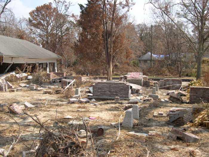 photo Sept 2005, courtesy Mississippi Heritage Trust