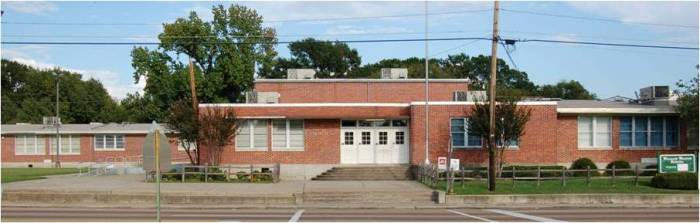 William Walton School, Jackson (1952, Drummond and Christian, archts.)--this building is designated as a Mississippi Landmark and was one of the early equalization schools built for African American students in Jackson.