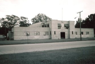 Amory National Guard Armory, historic view