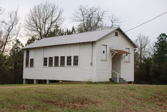 Bynum Rosenwald School (1926), Panola County, MS