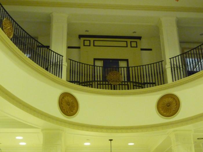 Main entrance lobby, 1st floor