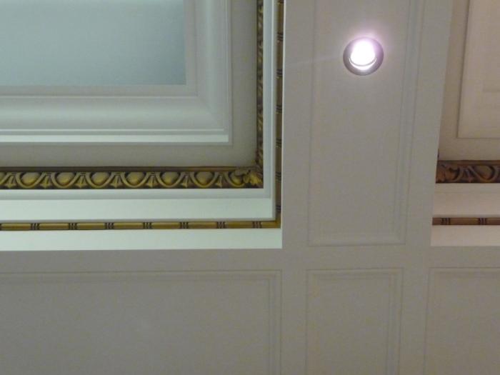 Ballroom, ceiling detail
