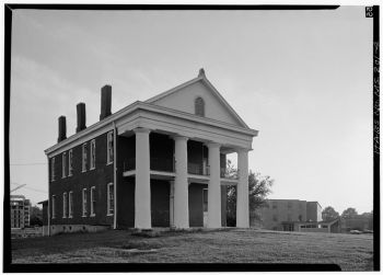 Belles Lettres Hall (c.1855), Alcorn State University, photo 1974, courtesy of HABS