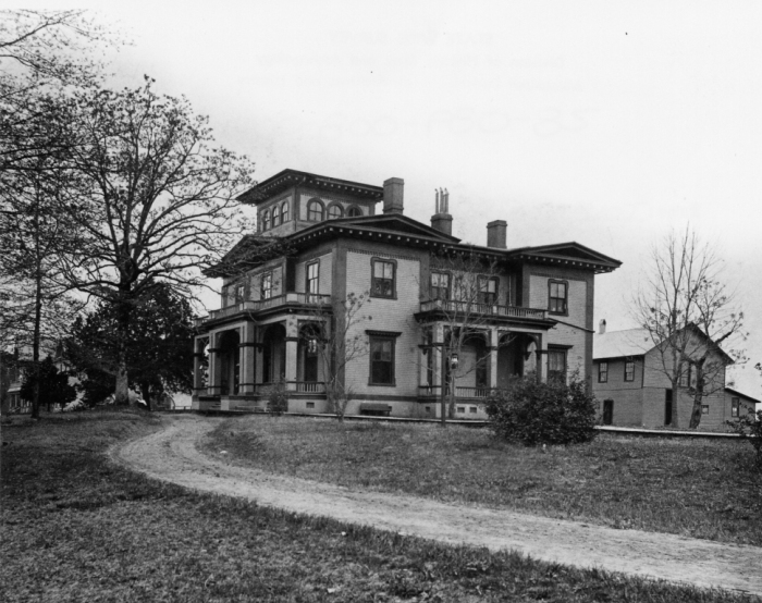 Boddie Mansion, Tougaloo College, photo c.1900, courtesy MDAH