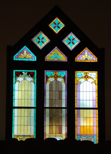 stained glass window, Carrollton Presbyterian Church (1897)