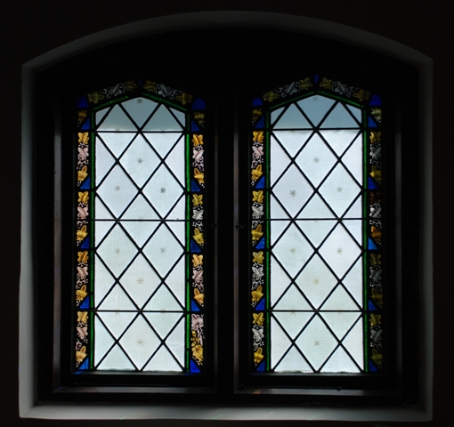 stained glass window, Grace Episcopal Church (1883)