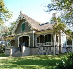 Manship House, antebellum but not Greek Revival (unless you look inside . . .)