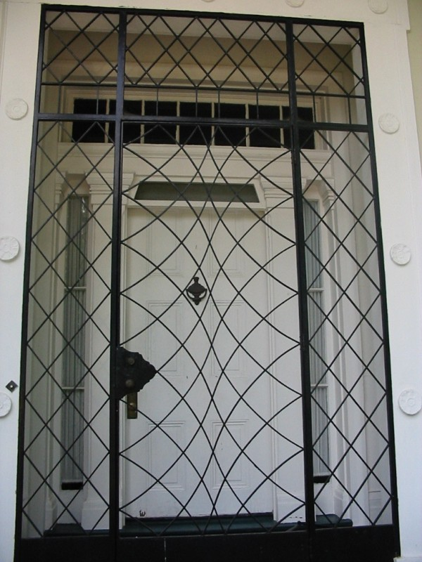 Curlee House Front Door And Gate Preservation In Mississippi