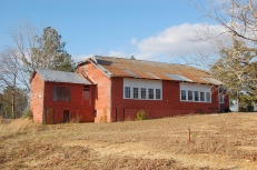 Walthall County Training School (Ginntown Rosenwald), Tylertown vicinity (1920), designated Aug 13, 2009