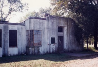 Tunica Penal Farm (1934), possibly Overstreet & Town's first concrete building in Mississippi.