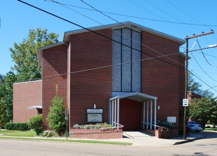 Farish Street Baptist Church (1949-50, James T. Canizaro, archt.)