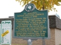 A friendly and informative historic marker always at hand.