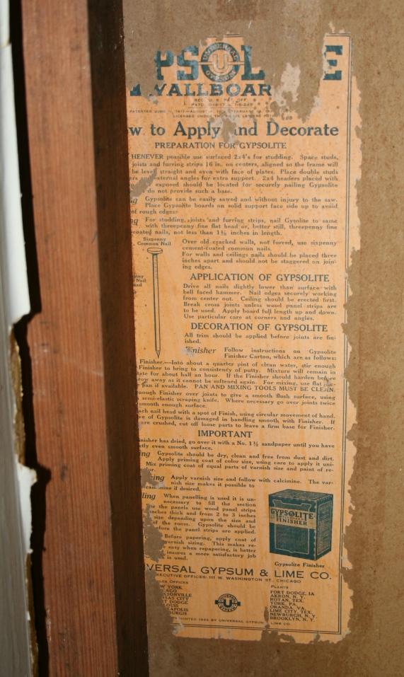 Historic Sheetrock? You betcha! – Preservation in Mississippi