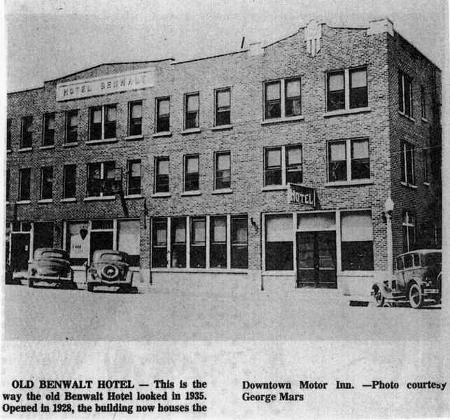 The Old Benwalt Hotel Blows Its Top Preservation In Mississippi