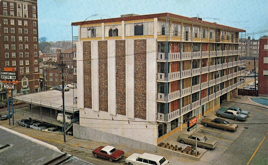Vacation Postcards Downtowner Motor Inn Vicksburg