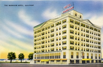 The Markham Hotel in Gulfport