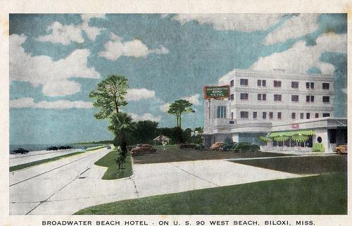 Pleasure Domes Past Biloxi S Broadwater Beach
