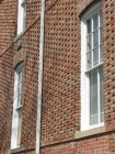 George Hall, Mississippi State University, Side (West) Facade, Detail of Brickwork