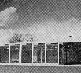 Roy Residence, Waveland Mississippi from Progressive Architecture magazine, January 1956