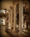 The Loggia, ca. 1927, The White House Hotel, Biloxi