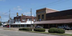 downtown Richton, Perry County