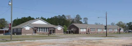 Leakesville School campus