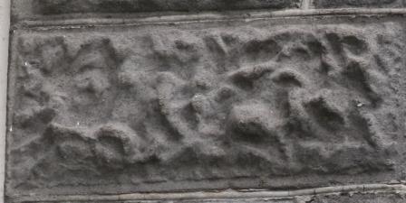 Vermiculated Block, Louis Bowen House, Biloxi Miss. Photo by Author taken 2009