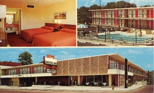 Gilmer Motor Inn back in the day