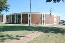 Horton Building, Mississippi Delta CC, Moorhead (1968), James E. McAdams, archt.