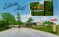 LAKEVIEW MOTEL. 7 Miles East on Highway 80, Jackson, Miss. Phone 2-0139. Air-Conditioned and T.V. Free Fishing for Guests.