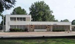 Dedwyler Memorial Health Center, Cleveland (1950), N.W. Overstreet & Assoc., archts.