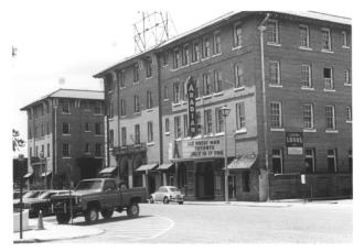 Pinehurst Hotel and Arabian Theater, Laurel, Jones County. Photo by Michael W. Fazio, May\June 1984. Retrieved 12/01/12 from Mississippi Historic Resources Inventory (HRI) Database.