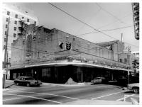 Saenger Theater, Hattiesburg, Forrest Co. Photo By Francis Farmer Feb. 9, 1979.  Retrieved 11/30/2012 from Mississippi Historic Resources Inventory (HRI) Database.