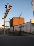 Corinth Mills, Franklin St. and the Norfolk Southern Railroad Tracks, Looking Southeast, December 31, 2008