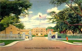 **Gulfport Veterans Hospital, Gulfport (1923-37)--Built on land originally developed for Mississippi's first Centennial celebration, the old Gulfport Veterans' Hospital, now being re-developed into a mixed-use zone called Centennial Plaza, is both architecturally and historically important.